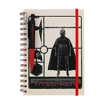 Star Wars, Notepad with Pen - Kylo Ren