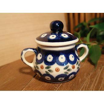 Zuckerdose, Miniatur, Tradition 6, Bunzlauer Keramik - BSN 0608