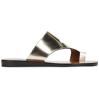 Kenneth Cole New York Womens Palm Open Toe Casual Slide Sandals