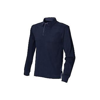 Première rangée super soft chemise de rugby à manches longues fr43m