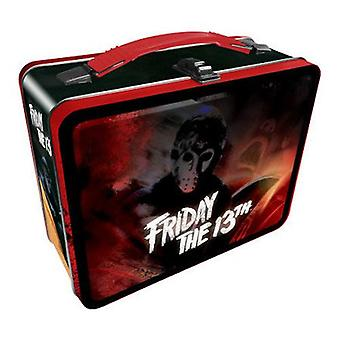 Friday the 13th tin carry all fun box