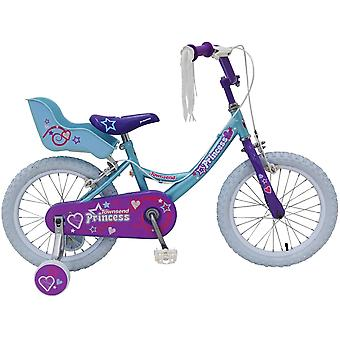 Townsend Princess 16 Inch Bike With Pneumatic Tyres and Removable Stabilisers