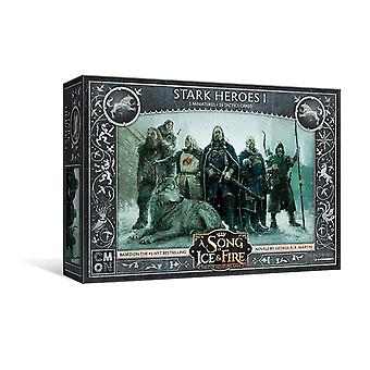 A Song Of Ice And Fire - Stark Heroes Expansion Pack Miniatures Game