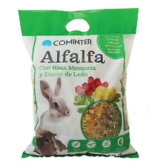 Cominter Alfalfa Rosehip and Dandelion (Small pets , Hay , Bedding)