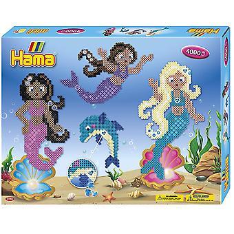 Hama 10.3150 Mermaids Gift Box Mosaic Bead Set, Mixed