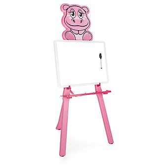 Pilsan Hippo Drawing Board Pink