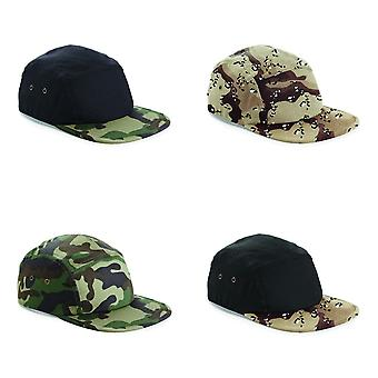 Beechfield Camouflage 5 Panel Baseball Cap (Pack of 2)