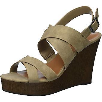 Indigo Rd. Womens Karla Open Toe Casual Slingback Sandals