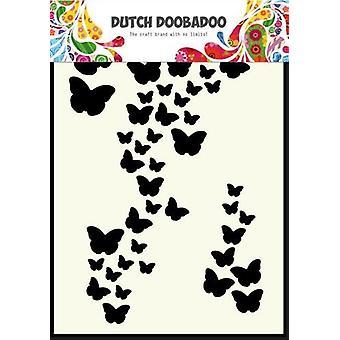 Dutch Doobadoo A6 Mask Art Stencil - Butterflies #741003