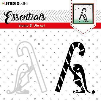 Studio Light A6 Stamp & Die Cut Essentials Silhouettes Number 33