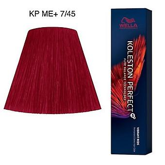 Wella Professionals Koleston perfekt me + 7/45 Vibrant Reds 60 ml