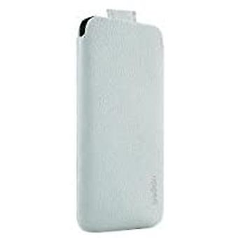Funda de bolsillo Belkin para Apple iPhone 5 blanco