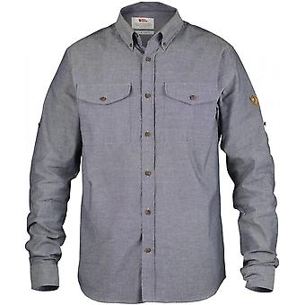 Fjallraven Ovik Chambray Shirt - Navy