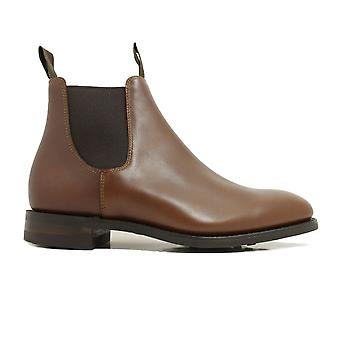 Loake Chatterley Brown Waxed Leather