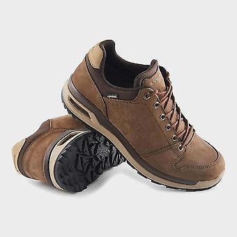 New Lowa Men's Locarno GTX Lo Walking Shoes Brown