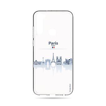 Hull For Xiaomi Redmi Note 8t Souple Monuments De Paris