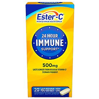 Ester c 500 mg, 24 hours immune support, 60 ea