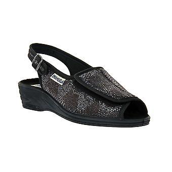 Emanuela black sandal shoes