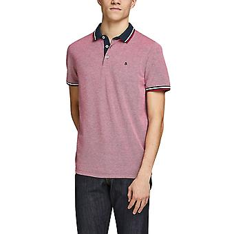Jack & Jones Heren's Classic Polo T-Shirt Slim Fit Essentials