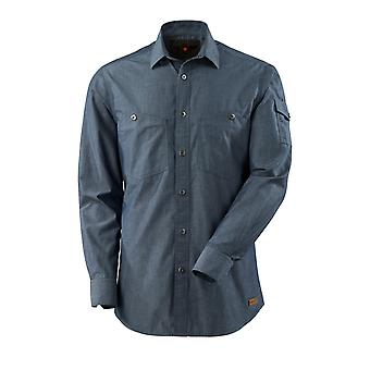 Mascot yorkville chambray shirt denim-look 17404-325 - crossover, mens
