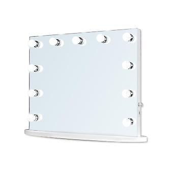 Hollywood Mirror 65 x 80cm Dressing Table or Wall Mounted Vanity