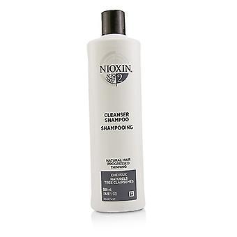 Nioxin Derma purificando System 2 Cleanser Shampoo (cabelo Natural, progrediu desbaste) 500ml/16,9 oz