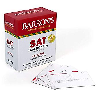 SAT Flashcards - 500 Cards to Prepare for Test Day by Sharon Weiner Gr
