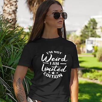 Unisex Premium T-Shirt | I'm Not Weird, I Am Limited Edition design in dark colors
