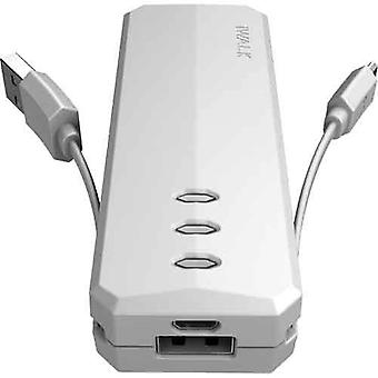 iWalk Supreme 2,600mAh Portable Backup Battery - White