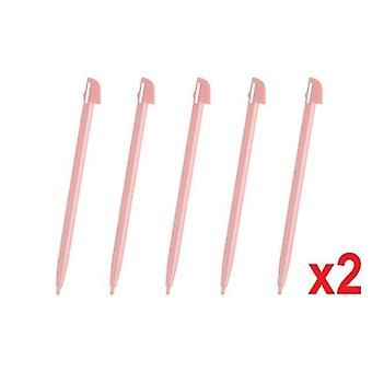 10 Wii U Pink Touch Stylus Pen Wii Rigid Plastic For Nintendo