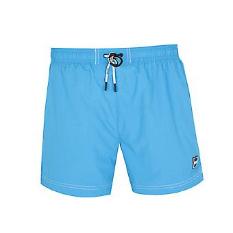 Boss Atum Pequeno Aba Brilhante Mar Azul Shorts