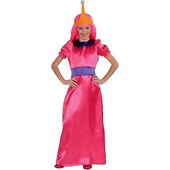Bubbla Princess barn kostym från den tecknade äventyr tid