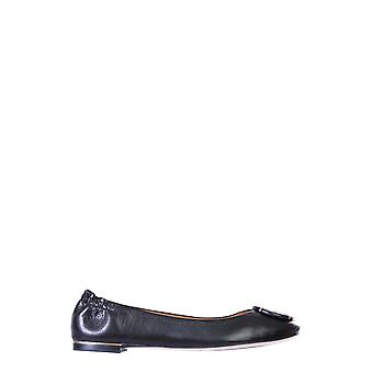 Tory Burch 74062006 Women's Black Leather Flats