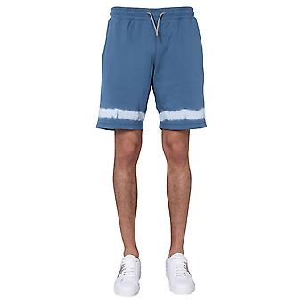 Ps By Paul Smith M2r261ta2085642 Men's Light Blue Cotton Shorts