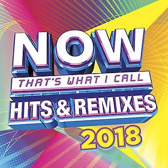 Various Artist - Now Hits & Remixes 2018 [CD] USA import