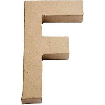20.5cm Papier Letter Shape for Decoupage – F