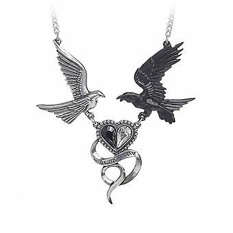 Alchemy - epiphany of st. corvus - necklace pendant
