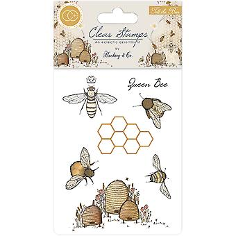 Craft Consortium Tell the Bees Clear Stamps
