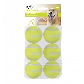 AFP Pelotas 6Piezas Hyper Fetch Mini Interactive (Honden , Speelgoed en sport , Ballen)