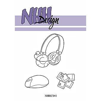 NHH Design Computer Stuff Clear Stamps