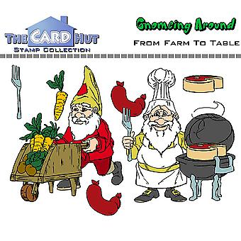The Card Hut From Farm To Table Clear Stamps