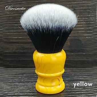 Tuxedo Knot Synthetic Hair Shaving Brush - Resin Handle By Hand Made