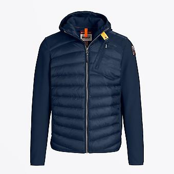 Parajumpers - Nolan Hooded Puffer Jacket - Blauw/Marine