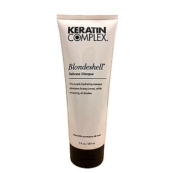 Keratin Complexe Blondeshell Debrass Masque 7 OZ