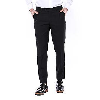 Pantaloni neri semplici