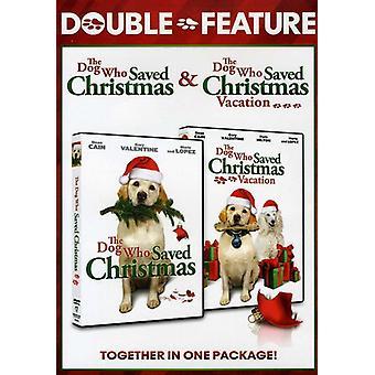 Importer des chien USA qui sauvé Noël Double Feature [DVD]