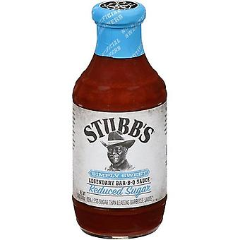 Stubb's Simply Sweet Legendary BBQ Sauce Reduced Sugar