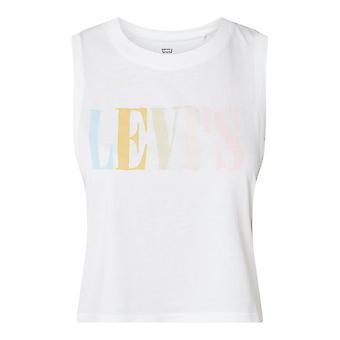 Levi-apos;S Graphic Crop Tank 90S Serif 398100037 universal toute l'année femmes t-shirt