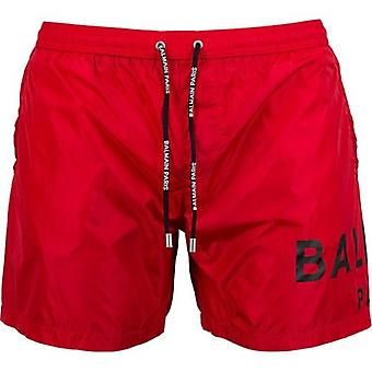 Balmain Swimwear Logo Swim Shorts