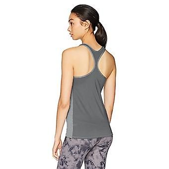 Brand - Core 10 Women's Fitted Run Tech Mesh Racerback, Medium Grey He...
